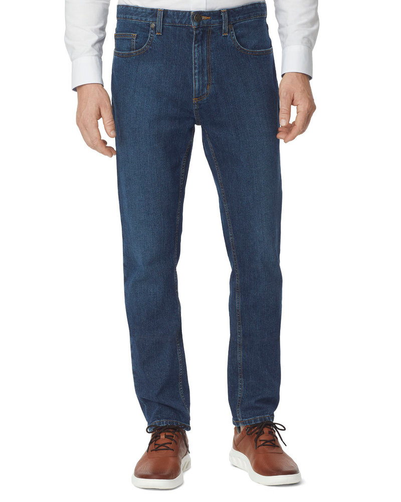 JOHNSTON & MURPHY Classic Fit Denim Washed Jean