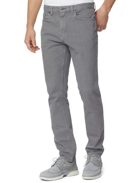 JOHNSTON & MURPHY Classic Fit Denim Overdyed Gray Jean