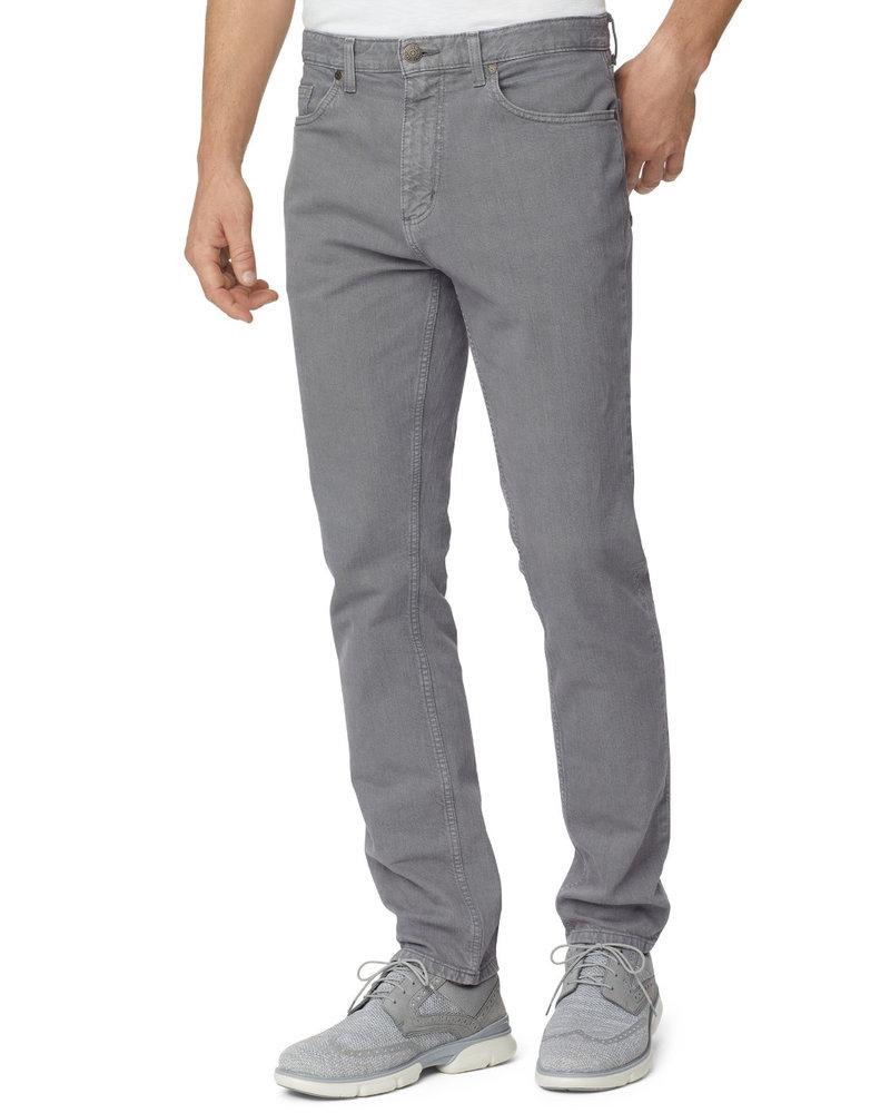JOHNSTON & MURPHY Classic Fit Denim Overdyed Grey Jean