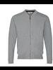 BRUUN & STENGADE Grey Full Zip Sweatshirt