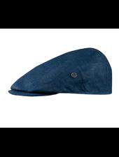 BUGATTI Denim Blue Flat Cap