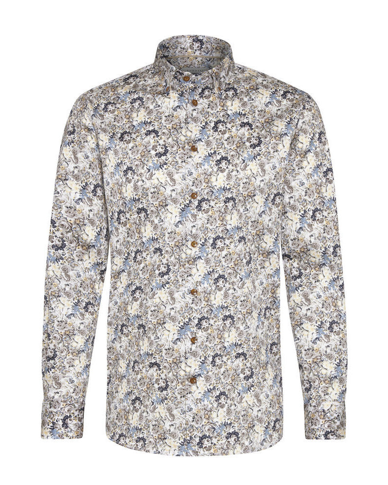 BUGATTI Modern Fit Floral Shirt