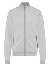 BUGATTI Grey Full Zip Knit