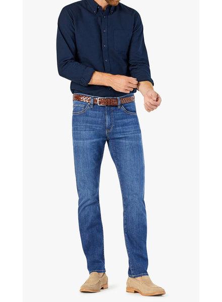 34 HERITAGE Modern Fit Mid Brushed Kona Jean