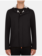 SAVE THE DUCK Hooded Solid Jacket