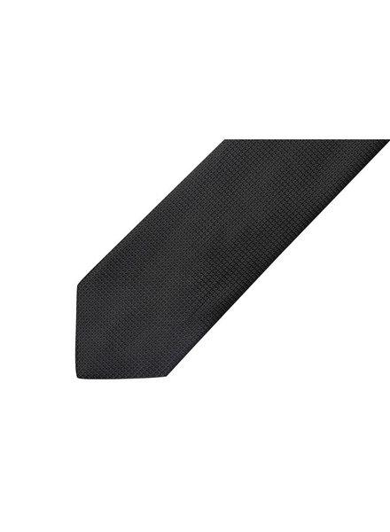 MONTEBELLO Black Silk Tie