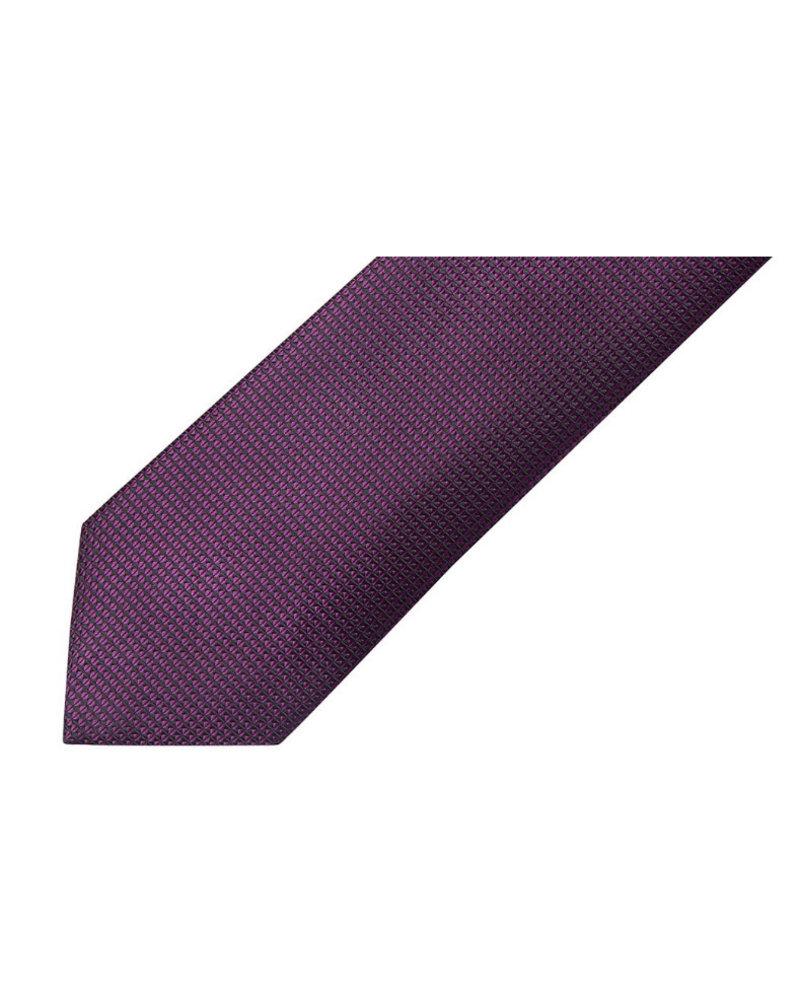 MONTEBELLO Purple Silk Tie
