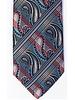 MONTEBELLO Blue Grey Paisley Silk Tie