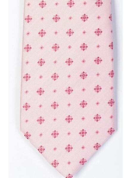 MONTEBELLO Light Pink Silk Tie