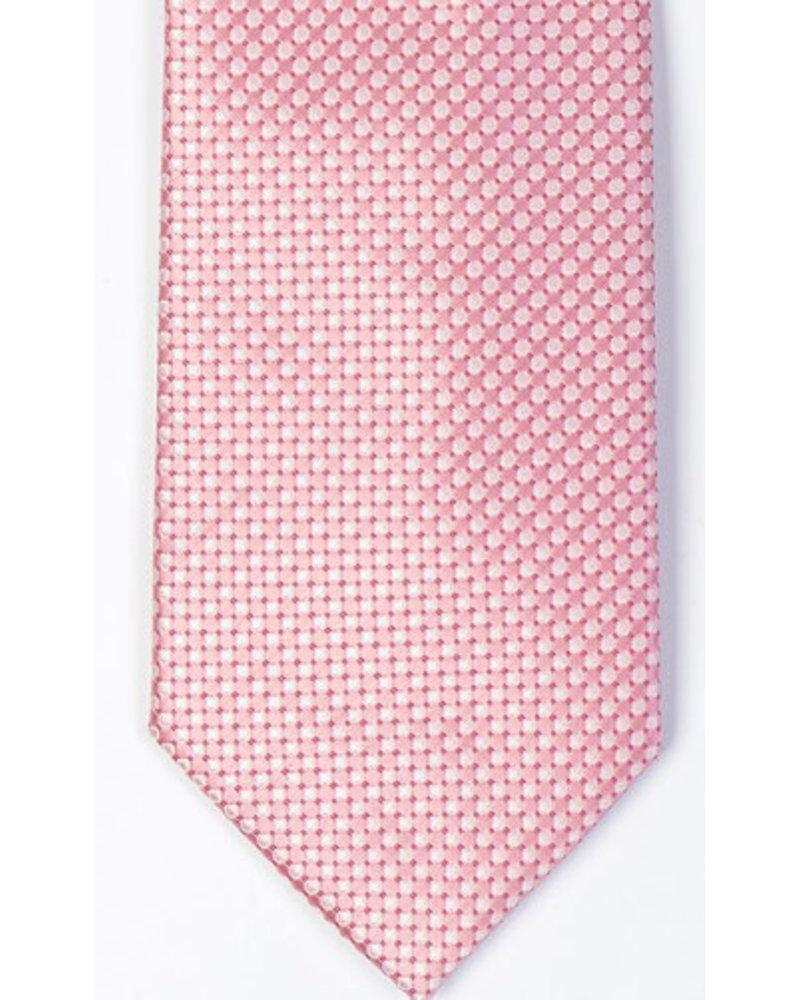 MONTEBELLO Pink Silk Tie