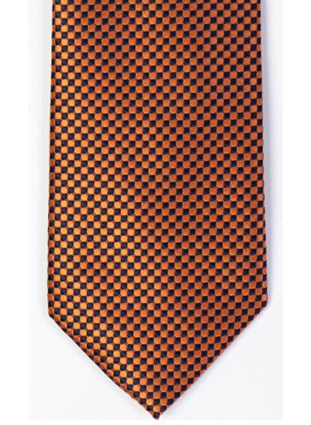 MONTEBELLO Orange Silk Tie