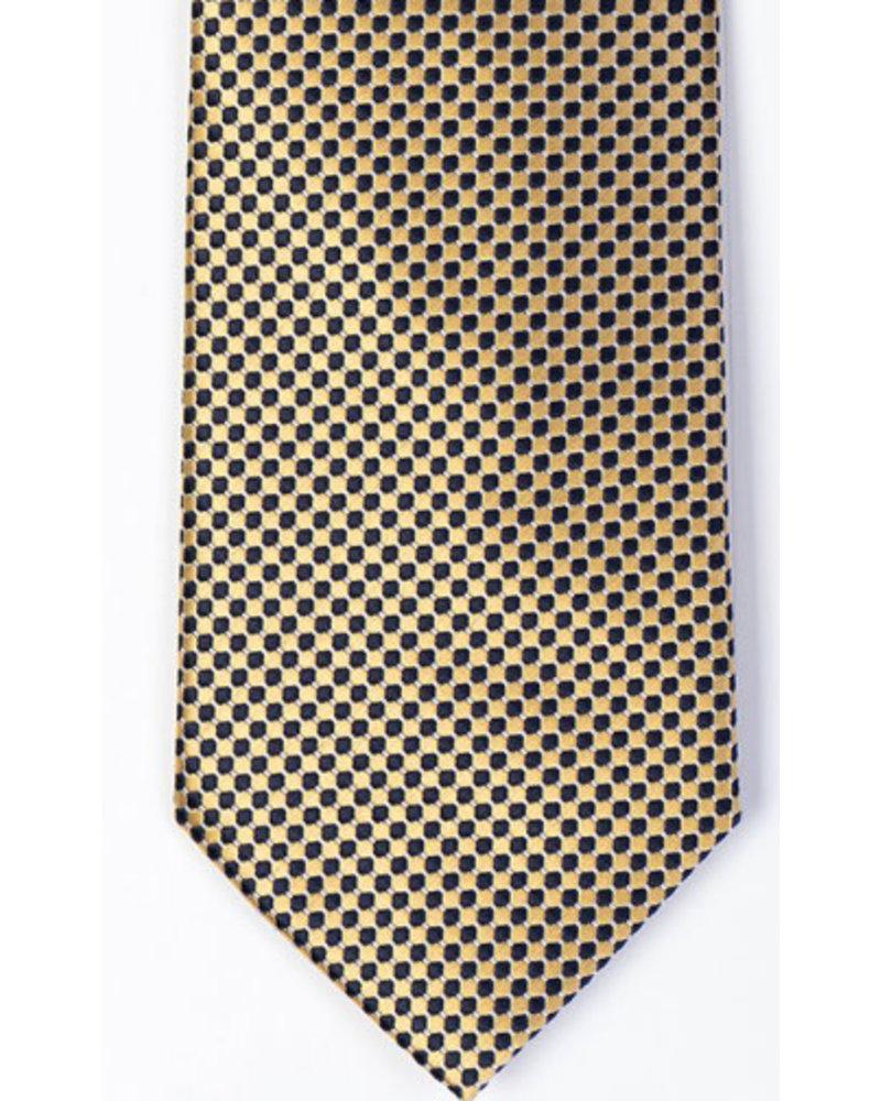 MONTEBELLO Gold Silk Tie