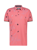 A FISH NAMED FRED Embroidery Festival Pink Polo