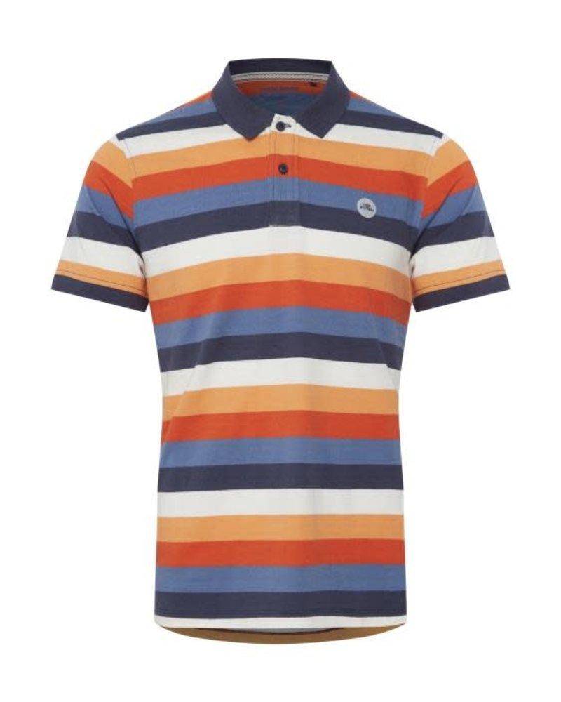 BLEND Multi Colour Striped Polo