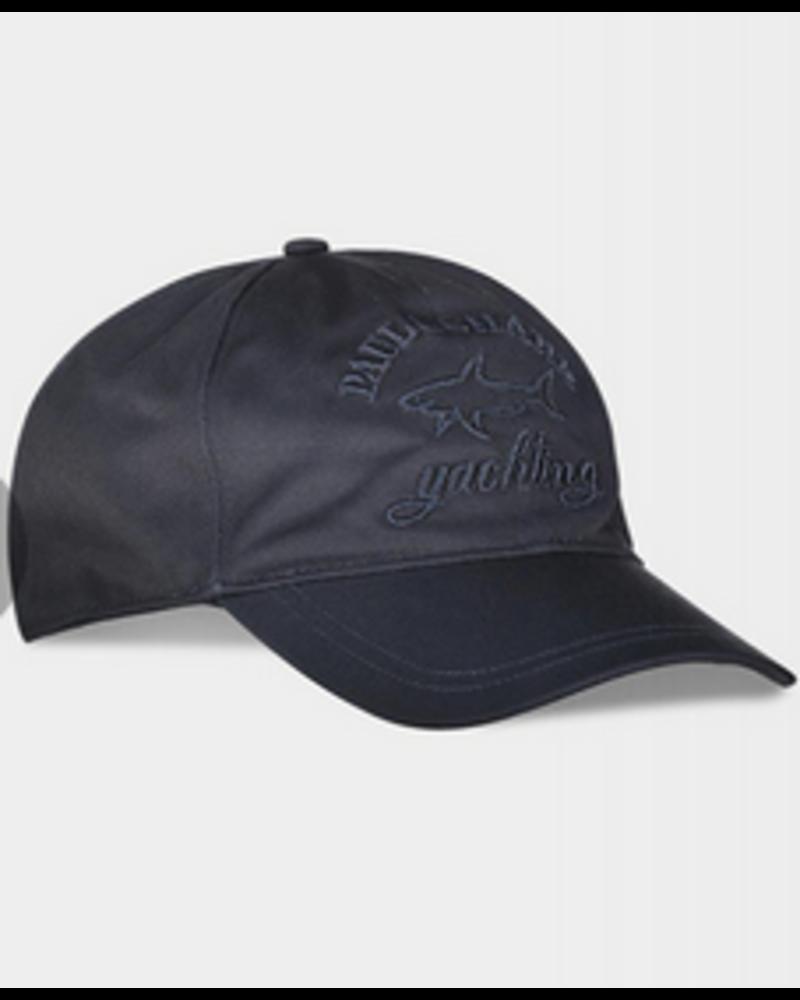 PAUL & SHARK Navy Cotton Baseball Hat