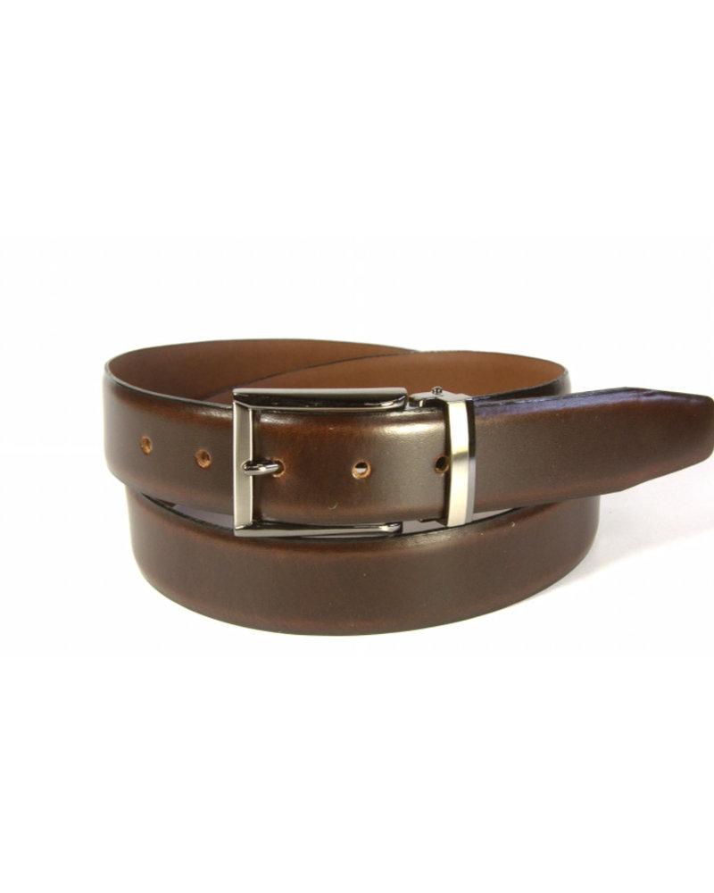 BENCHCRAFT Antique Clamp on Buckle Belt