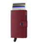 SECRID Veg Tanned Miniwallet Rosso
