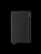 SECRID Perforated Slimwallet Black