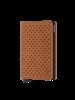 SECRID Perforated Slimwallet Cognac