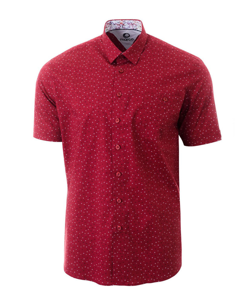 MARCO Classic Fit Red Shirt