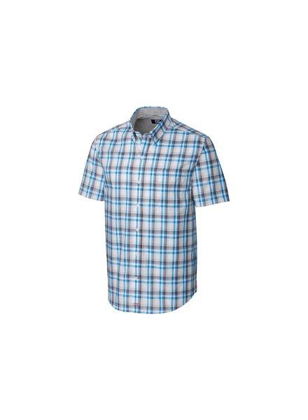 CUTTER & BUCK Classic Fit Sebastian Plaid Shirt