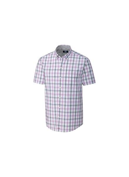 CUTTER & BUCK Classic Fit Griffin Plaid Shirt