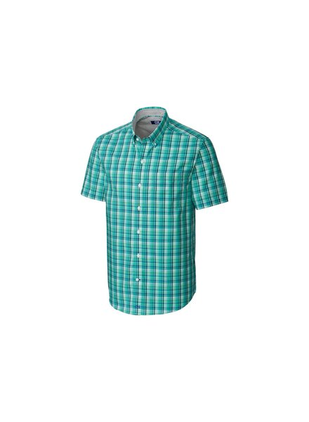 CUTTER & BUCK Classic Fit Tobias Plaid Shirt