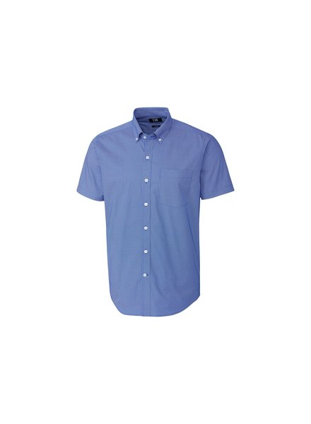 CUTTER & BUCK Classic Fit Dit-Dat Print Shirt