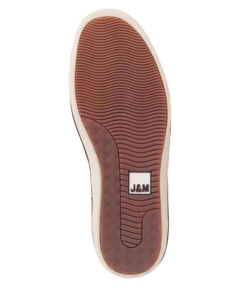 JOHNSTON & MURPHY McGuffey Lace to Toe Leather Sneaker