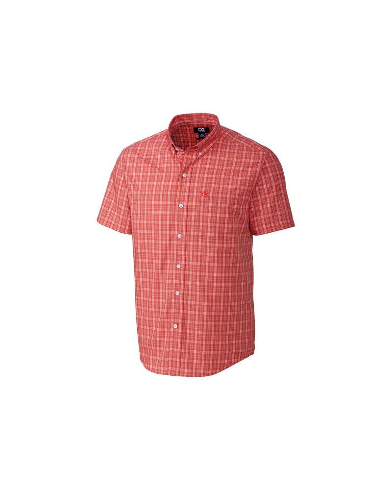 CUTTER & BUCK Classic Fit Leo Plaid Shirt