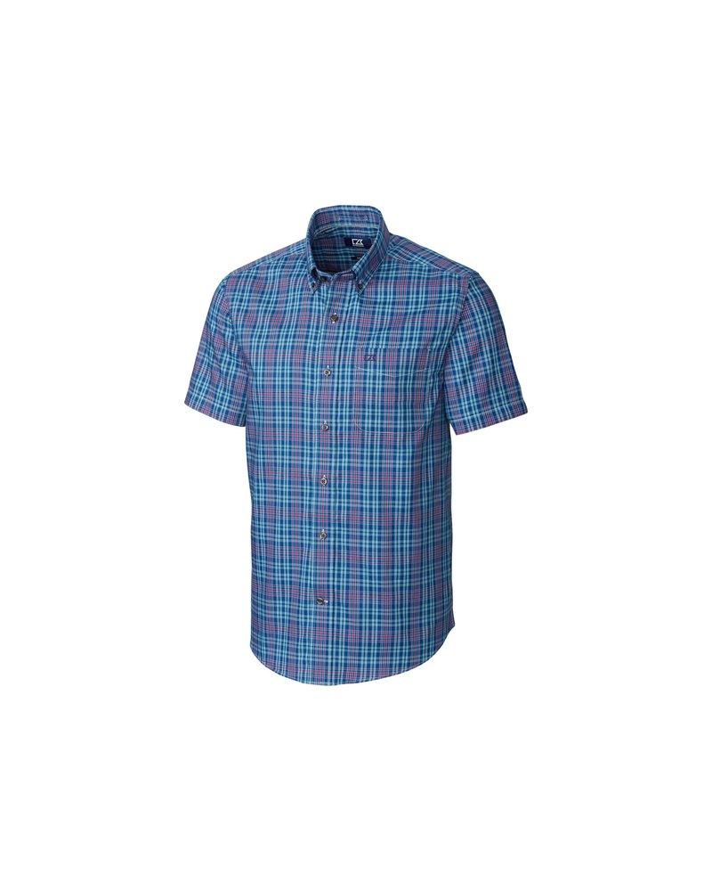 CUTTER & BUCK Classic Fit Isaac Plaid Shirt
