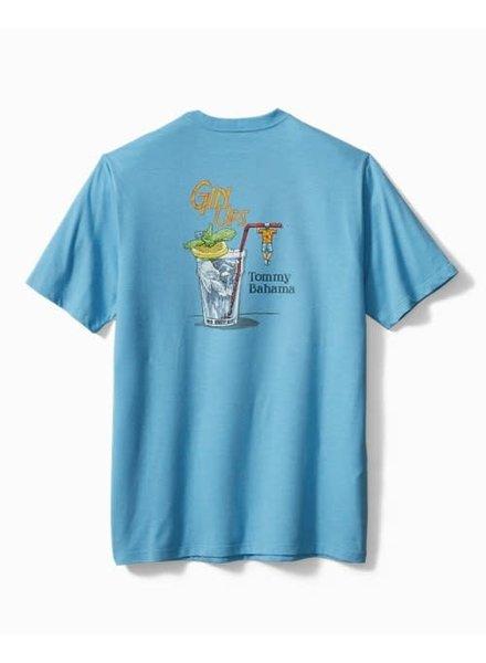 TOMMY BAHAMA Turquoise Gin Ups T Shirt