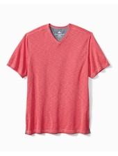TOMMY BAHAMA Palmetto Paradise V Neck T Shirt
