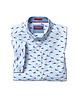 JOHNSTON & MURPHY Classic Fit Multi Coloured Shark Shirt