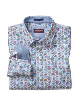 JOHNSTON & MURPHY Classic Fit Multi Floral Print Shirt