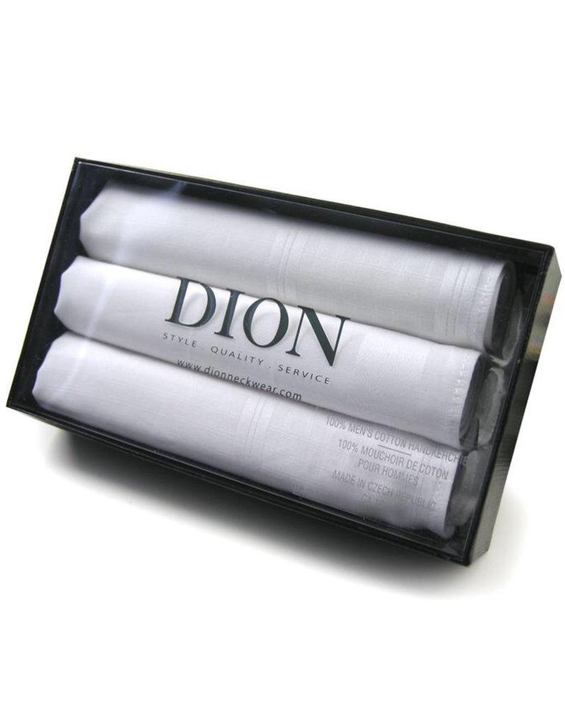 DION White Handkerchiefs
