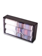 DION Dark Striped Handkerchiefs