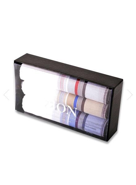 DION Mid Colour Striped Handkerchiefs