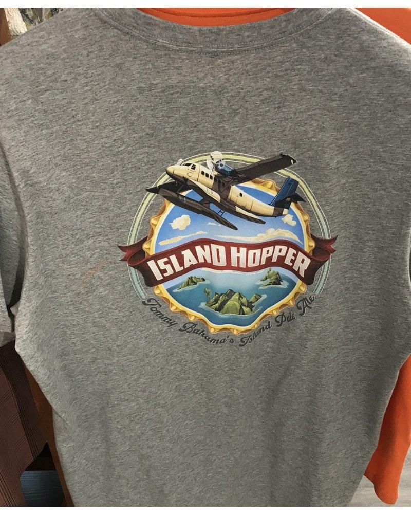 TOMMY BAHAMA Grey Island Hopper T Shirt