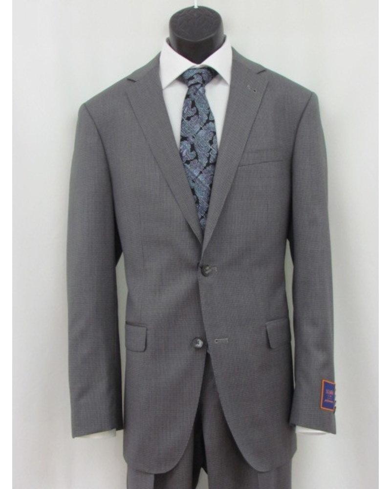 S COHEN Modern Fit Mid Grey Neat Suit