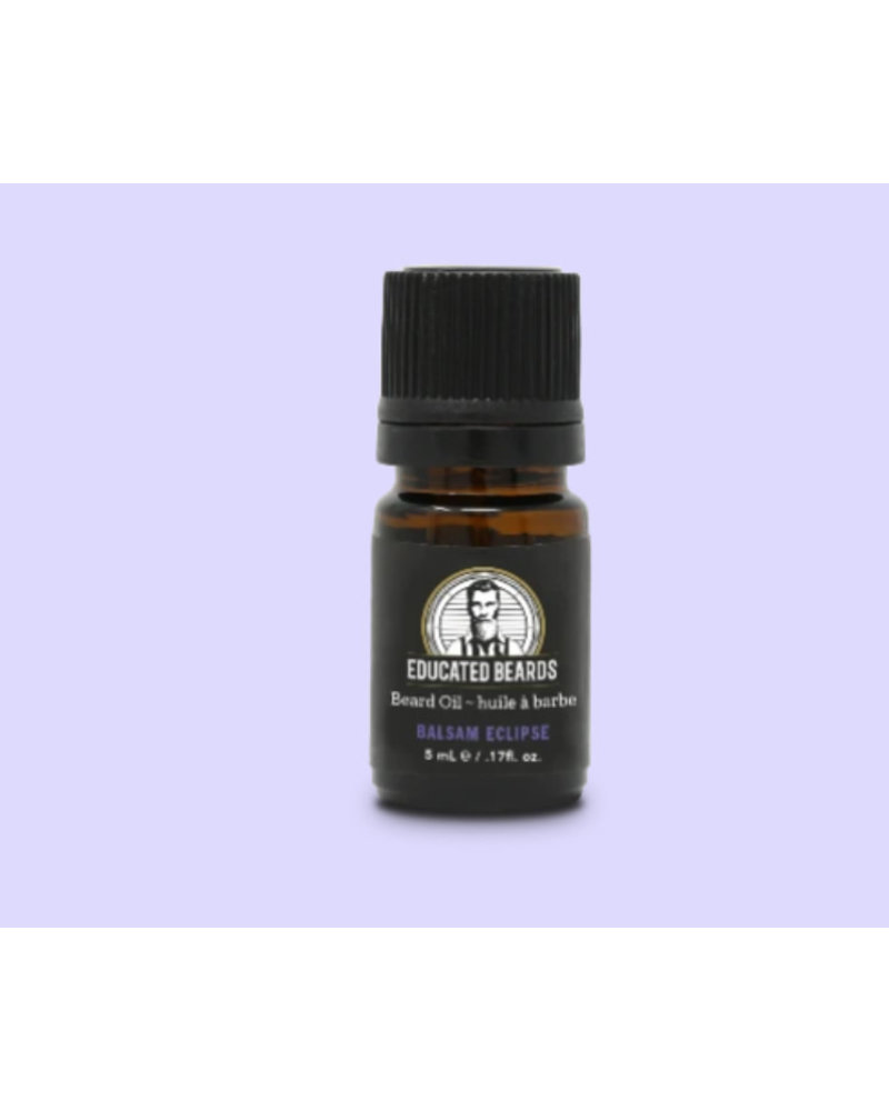 EDUCATED BEARD Beard Oil Balsam Eclipse 5ml