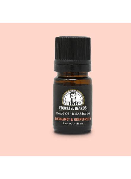 EDUCATED BEARD Beard Oil Bergamot & Grapefruit 5ml
