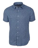 CUTTER & BUCK Classic Fit Mineral Print Shirt