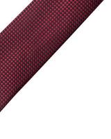 MONTEBELLO Burgundy Silk Tie