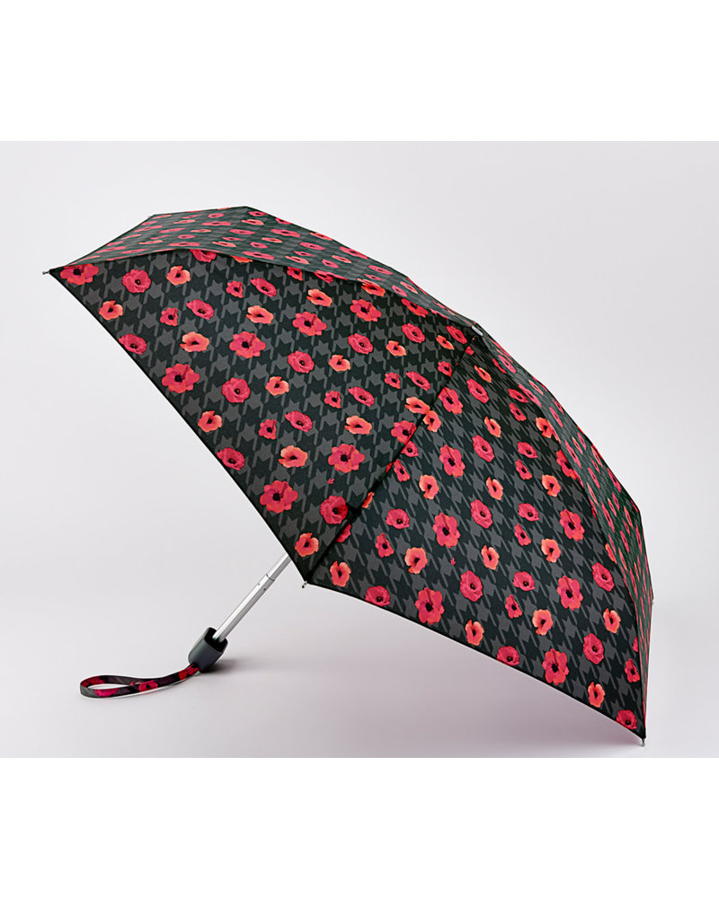 Tiny Houndstooth Poppy Umbrella