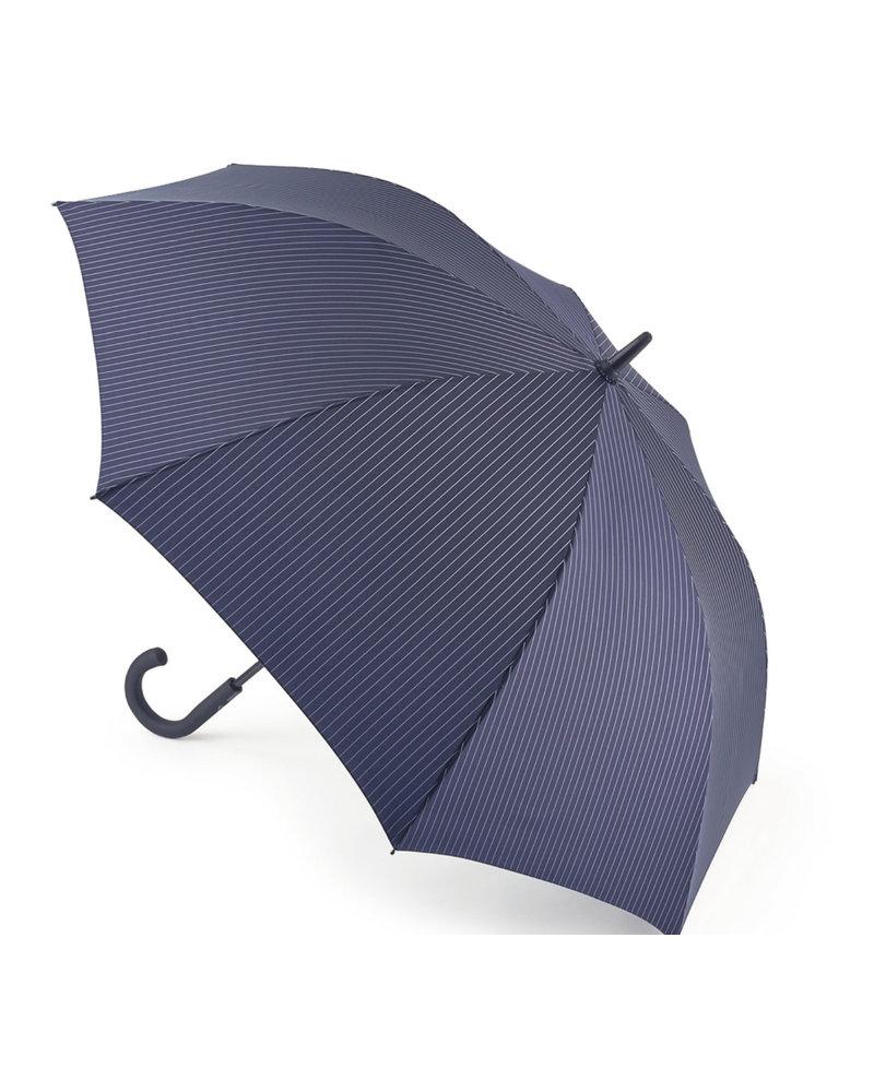 Navy Striped Knightsbridge Umbrella