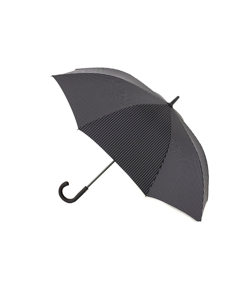 Black Striped Knightsbridge Umbrella