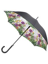 Black Bloomsbury Garden Glow Umbrella