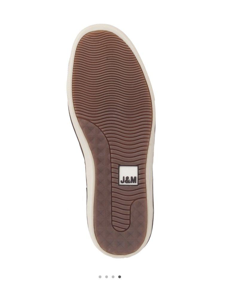 JOHNSTON & MURPHY Tan Slip On McGuffey Shoe
