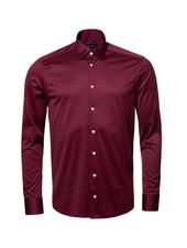 ETON Modern Fit Plum Single Jersey Shirt